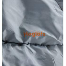 Haglöfs Moonlite -1 Sacco A Pelo 190cm, tangerine/gravel grey